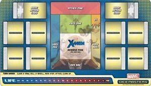 DICE MASTERS UNCANNY X-MEN PLAY MAT - TAPETE