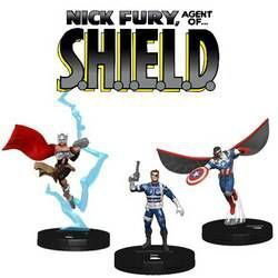 MARVEL HEROCLIX: NICK FURY AGENT OF SHIELD BOOSTER