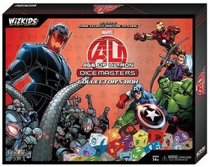 DICE MASTERS AVENGERS AGE OF ULTRON COLLECTOR BOX