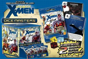 DICE MASTERS UNCANNY X-MEN SOBRES (CASTELLANO)