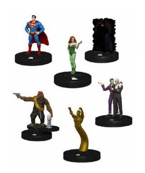 HEROCLIX SUPERMAN / BATMAN DC WORLD'S FINEST BOOSTER