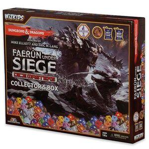 D&D DICE MASTERS FAERUM UNDER SIEGE COLLECTOR BOX