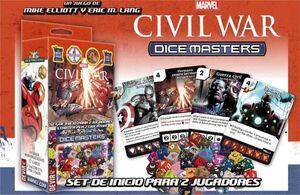 DICE MASTERS CIVIL WAL SET DE INICIO (CASTELLANO)
