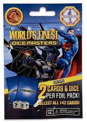 DICE MASTERS DC - SUPERMAN / BATMAN GRAVITY FEED (SOBRE)