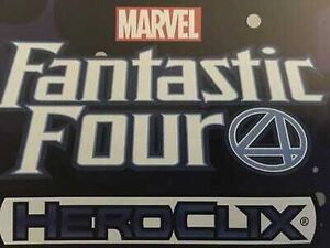 MARVEL HEROCLIX FANTASTIC FOUR BOOSTER BRICK