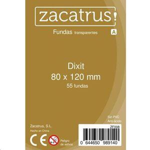 FUNDAS ZACATRUS DIXIT 80 MM X 120 MM (100)