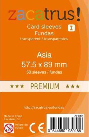 FUNDAS ZACATRUS ASIA PREMIUM 57,5MM X 89MM (55)