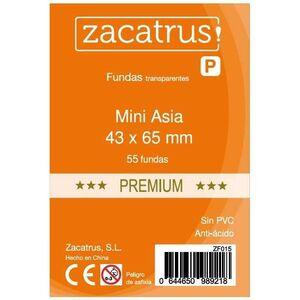FUNDAS ZACATRUS MINI ASIA PREMIUM 43MM X 65MM (55)