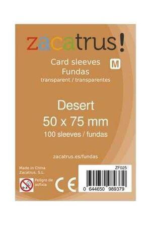 FUNDAS ZACATRUS DESERT 50 MM X 75 MM (100)