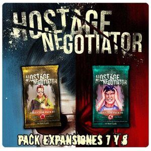 HOSTAGE EL NEGOCIADOR PACK EXPANSIONES 7 Y 8