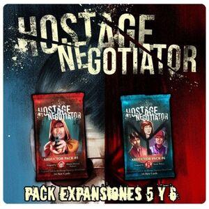 HOSTAGE EL NEGOCIADOR PACK EXPANSIONES 5 Y 6