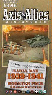 AXIS & ALLIES EARLY WAR 1939-1941 BOOSTER