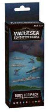 AXIS & ALLIES NAVAL MINIATURES: WAR AT SEA CONDITION ZEBRA