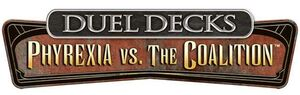 MAGIC- DUEL DECK PHYREXIA VS THE COALITION