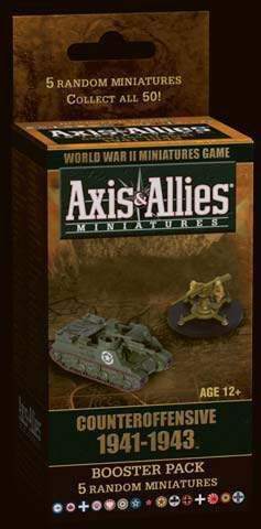 AXIS & ALLIES COUNTER OFFENSIVE 1941-1943 BOOSTER