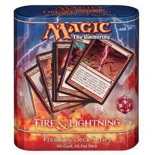 MAGIC- PREMIUM DECK SERIES: FIRE & LIGHTNING