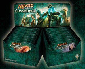 MAGIC- CONSPIRACY (INGLES)