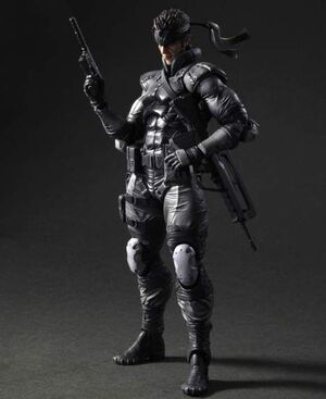 METAL GEAR SOLID PLAY ARTS KAI VOL.5 FIG 23CM SOLID SNAKE
