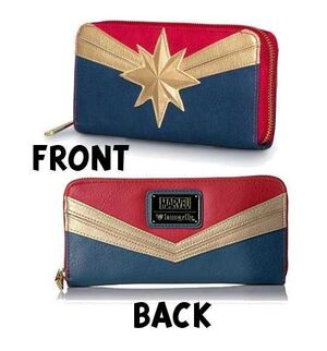 CAPITANA MARVEL CARTERA LOUNGEFLY
