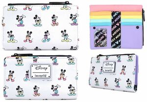 MICKEY MOUSE CARTERA PASTEL AOP POSES
