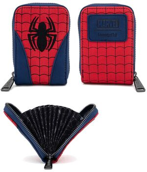 SPIDERMAN TARJETERO COSPLAY TIPO ACORDEON
