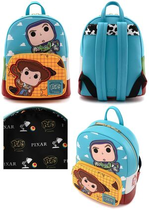 TOY STORY MOCHILA BUZZ Y WOODY
