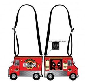 DEADPOOL 30TH ANNIVERSARY BANDOLERA CHIMICHANGAS FOOD TRUCK