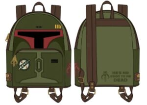 STAR WARS MOCHILA BOBA FETT NO GOOD TO ME DEAD COSPLAY