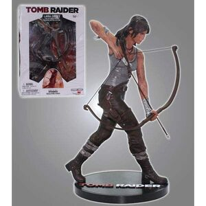 TOMB RAIDER ESTATUA RESINA LARA CROFT 23CM