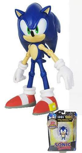 SONIC FIG 13CM THROUGH TIME - SONIC 2011