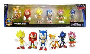 SONIC CLASSIC COLLECTOR'S SET 6 FIG 6CM