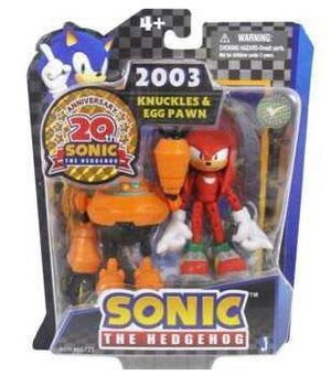 SONIC FIG 7CM GAME PACKS - KNUCKLES Y EGG PAWN