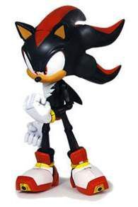 SONIC FIG 15CM SUPER POSERS - SONIC SHADOW