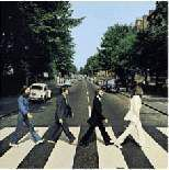 THE BEATLES ABBEY ROAD PRINT (POSTER) 40X40CM