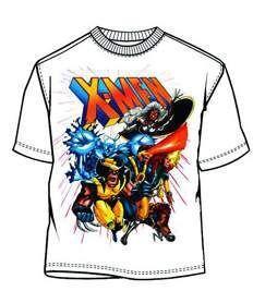 X-MEN CAMISETA DELUXE BLANCA XL