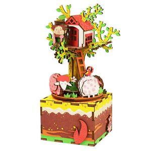 DIY MUSIC BOX TREE HOUSE