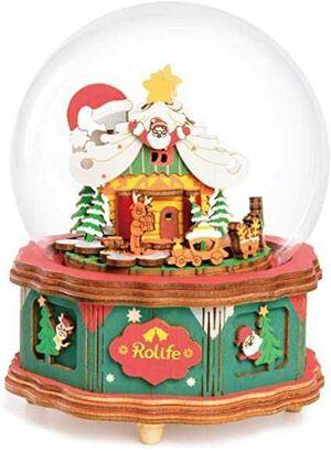 DIY MUSIC BOX CHRISTMAS TOWN