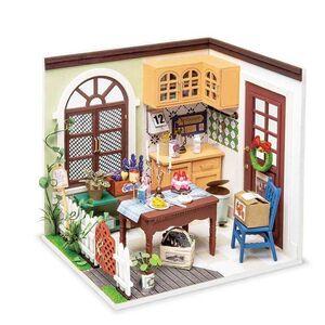 DIY MINIATURE HOUSE MRS CHARLIE´S DINNIN ROOM