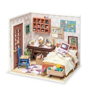 DIY MINIATURE HOUSE ANNE´S BEDROOM