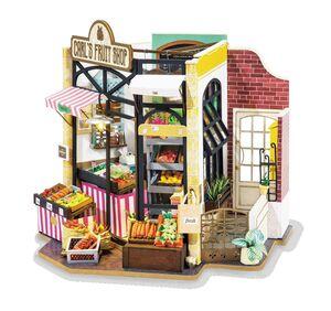 DIY MINIATURE HOUSE CARL´S FRUIT SHOP