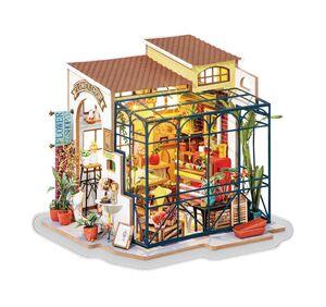 DIY MINIATURE HOUSE EMILY´S FLOWER SHOP