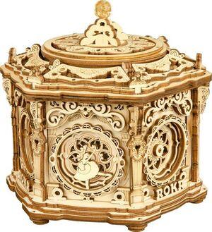 MECHANICAL MUSIC BOX SECRET GARDEN