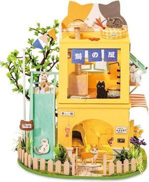 DIY MINIATURE CAT HOUSE