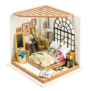 DIY MINIATURE HOUSE ALICE'  DREAMY BEDROOM