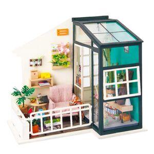 DIY MINIATURE HOUSE BALCONY DAYDREAMING