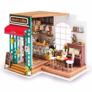 DIY MINIATURE HOUSE SIMON'S COFFEE