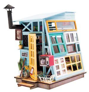 DIY MINIATURE HOUSE WOODEN HUT