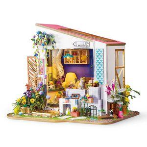 DIY MINIATURE HOUSE LILY'S PORCH