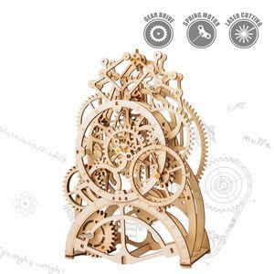 MECHANICAL GEARS PENDULUM CLOCK