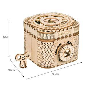 MECHANICAL GEARS TREASURE BOX